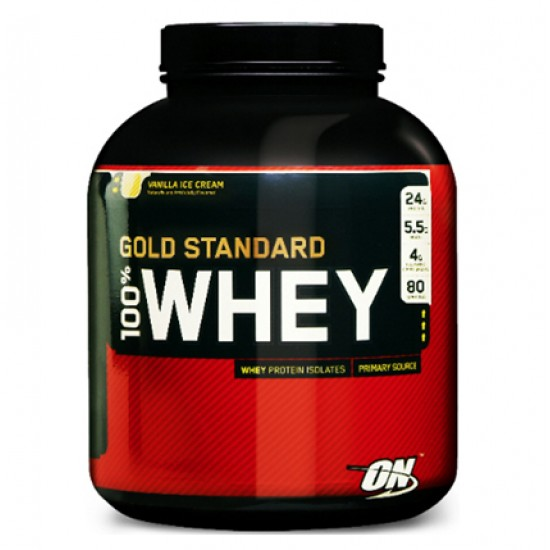 100% Whey Gold Standard 5lbs. De ON