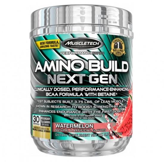 Amino Build 30 servs. De Muscle Tech