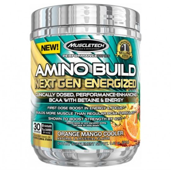 Amino Build Next Gen Energized 30serv. De Muscle Tech
