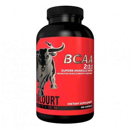 BCAA 2:1:1 300caps. De Betancourt