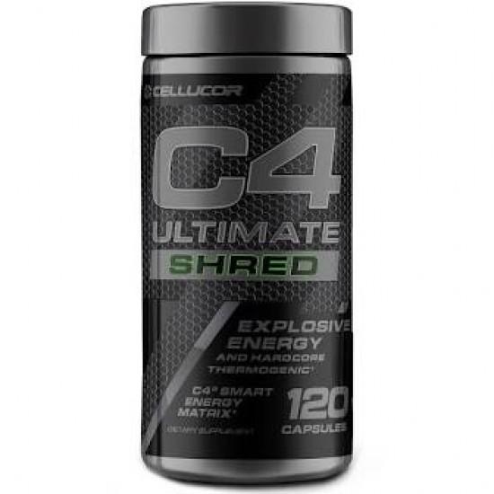 C4 Ultimate Shred 120caps. de Cellucor