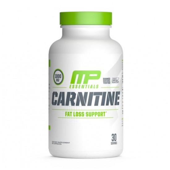 Carnitine MP 60caps de MusclePharm