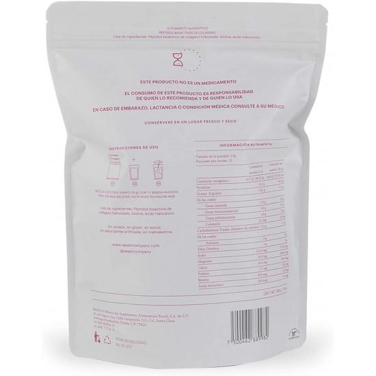 Colageno Hidrolizado + Acido Hialuronico + Biotina 500gms. De SESÉN