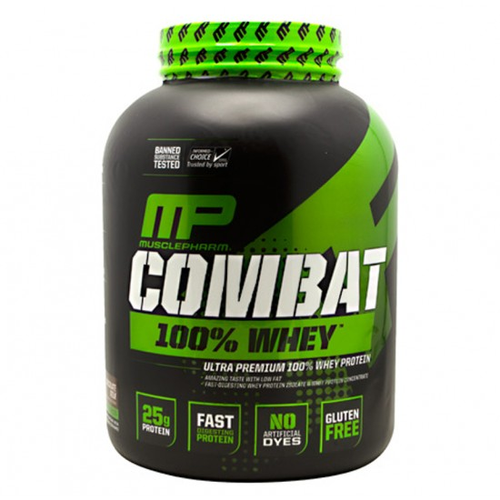 Combat 100% Whey 5lbs de MusclePharm