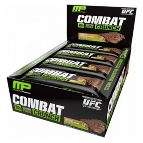 Combat Crunch Bars 12barras De Muscle Pharm