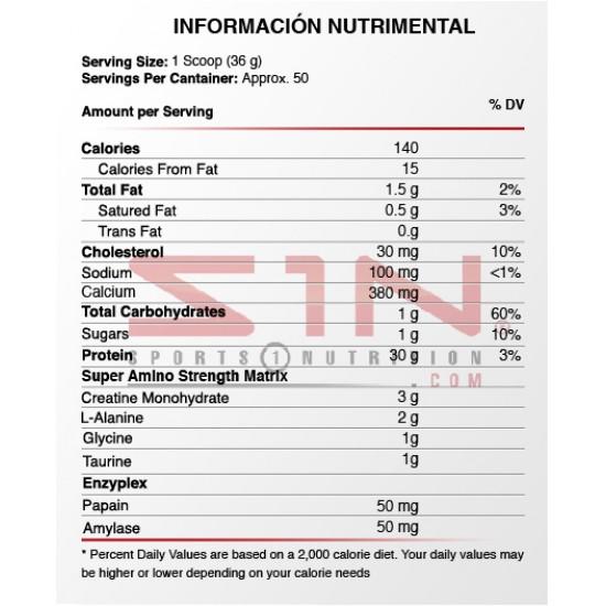Nitro Tech Performance   4lbs. De MuscleTech