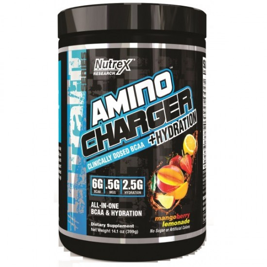 Amino Charger + Hydration 30servs. De Nutrex