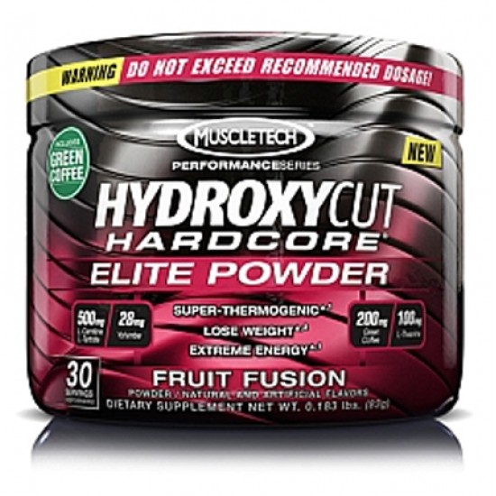 Hydroxycut Hardcore Elite POWDER 30servs. De MuscleTech