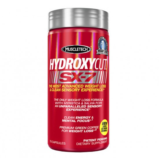 Hydroxycut SX-7 70caps. De Muscle Tech