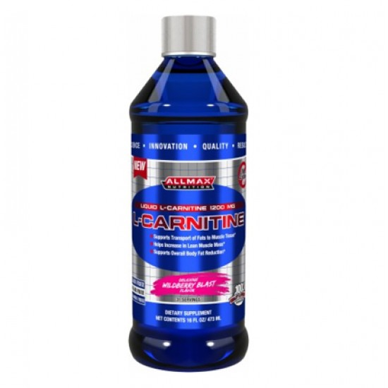 L-carnitine Liquid 16oz. De Allmax