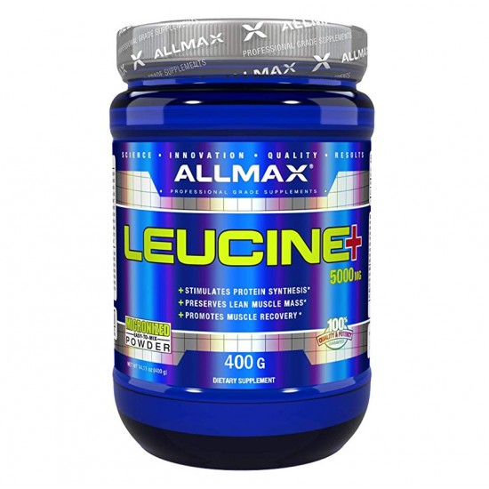 Leucine 400gms. De Allmax Nutrition