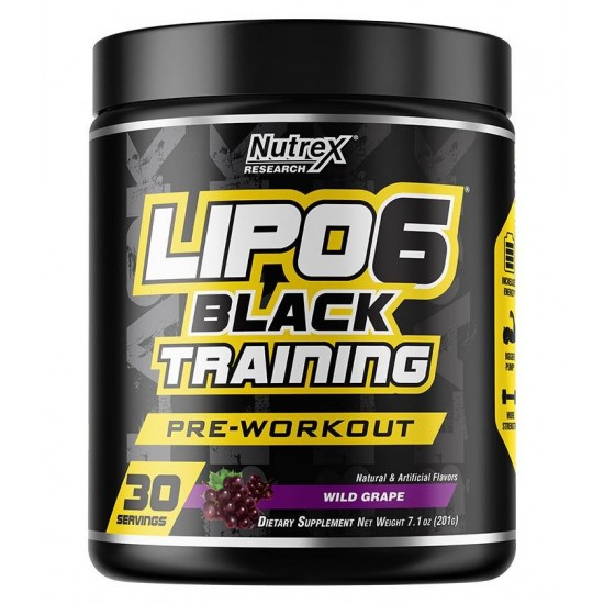 Lipo 6 Black Training 30servs. De Nutrex