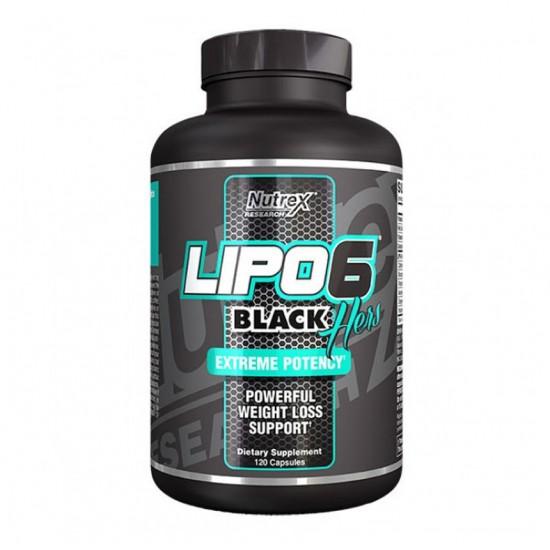 Lipo 6 Black Hers 120caps. De Nutrex