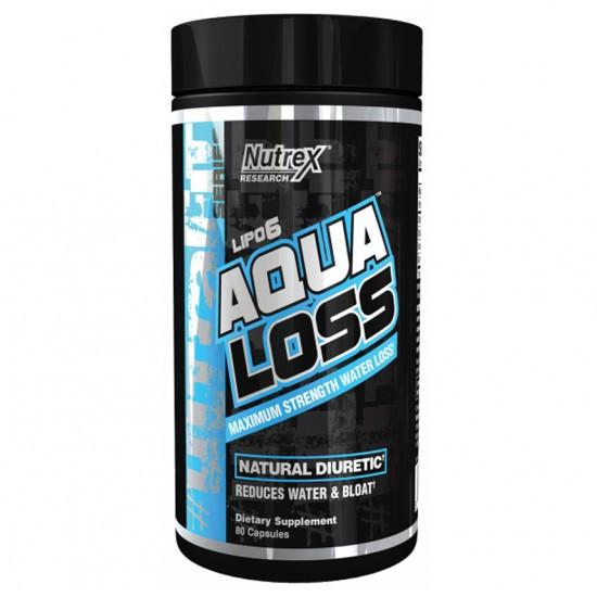 Lipo 6 Aqua Loss 80caps. De Nutrex