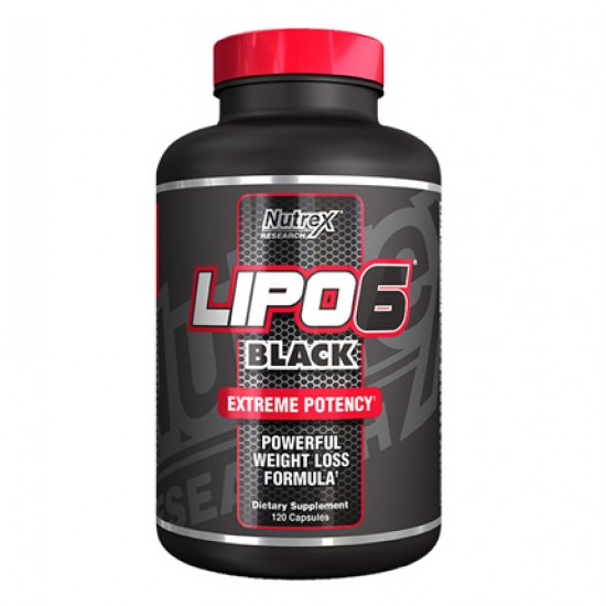 Lipo 6 Black 120caps. De Nutrex
