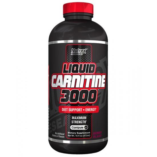 Liquid Carnitine 3000 16oz. De Nutrex
