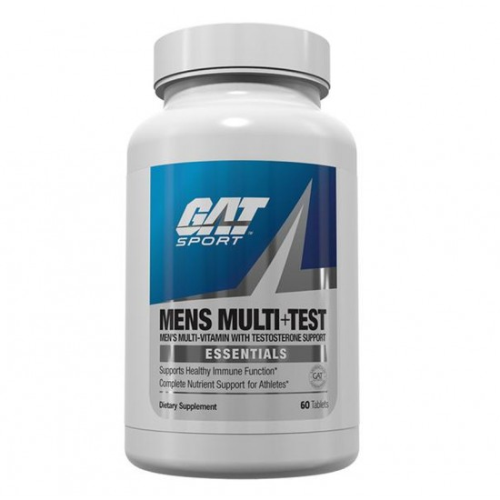 Mens Multi + Test 60tabs. De GAT