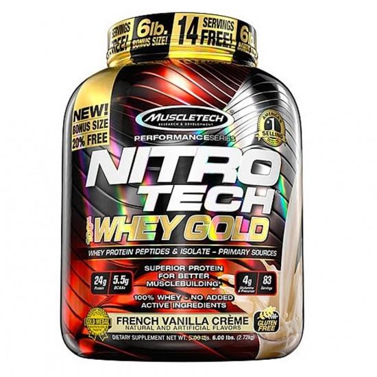 Nitro Tech GOLD 5.5lbs. De MuscleTech