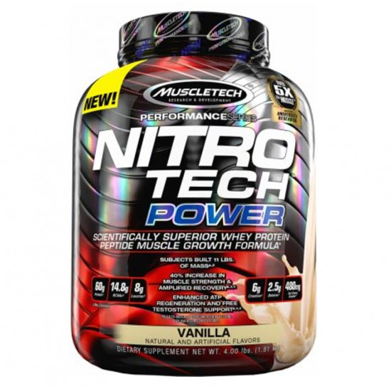 Nitro Tech Power 4lbs. De Muscle Tech