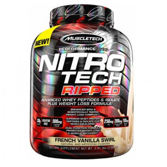 Nitro Tech Ripped  4lbs. De Muscle Tech