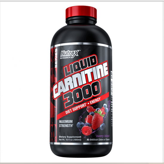Liquid Carnitine 3000 16oz. De Nutrex