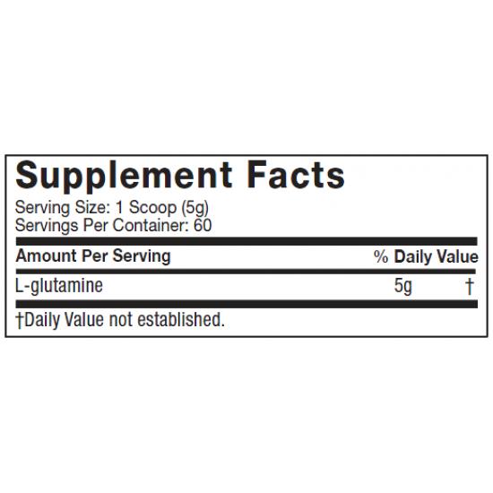 Platinum 100% Glutamine 300gms. De MuscleTech