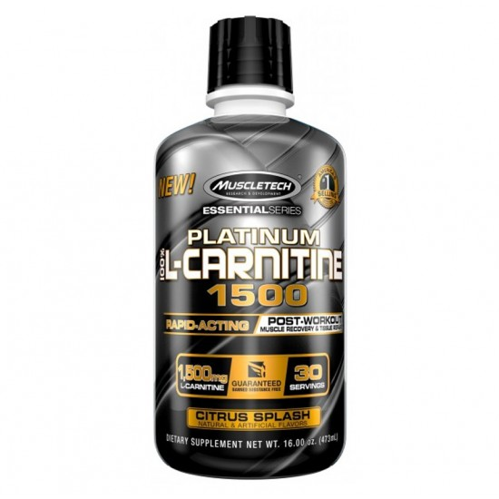 Platinum 100% L-Carnitine 1500 16oz. De MuscleTech