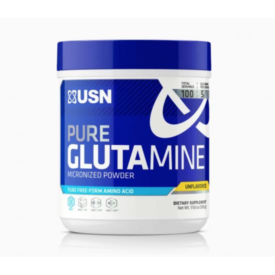 Pure Glutamine 100servs. de USN